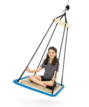 Enclosed Swing - Sensory Hanging Enclosed Swing 3 Sided
