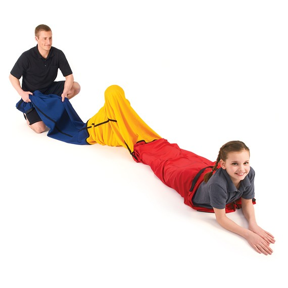Sensory Resistance Tunnel: Body Awareness, Touch Input