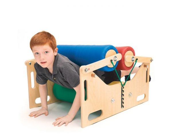 Body Roller - Sensory Steamroller Southpaw - 4 Pressure Rollers